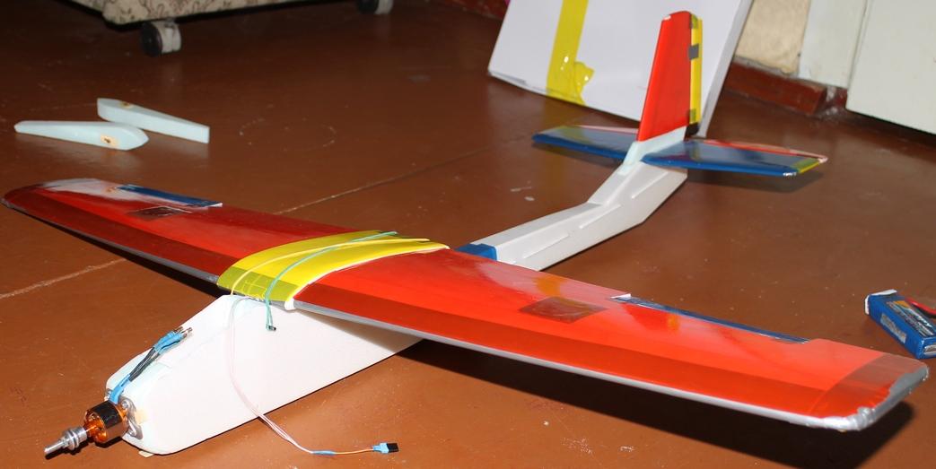 Как сделать радиоуправляемую самолет своими руками 138