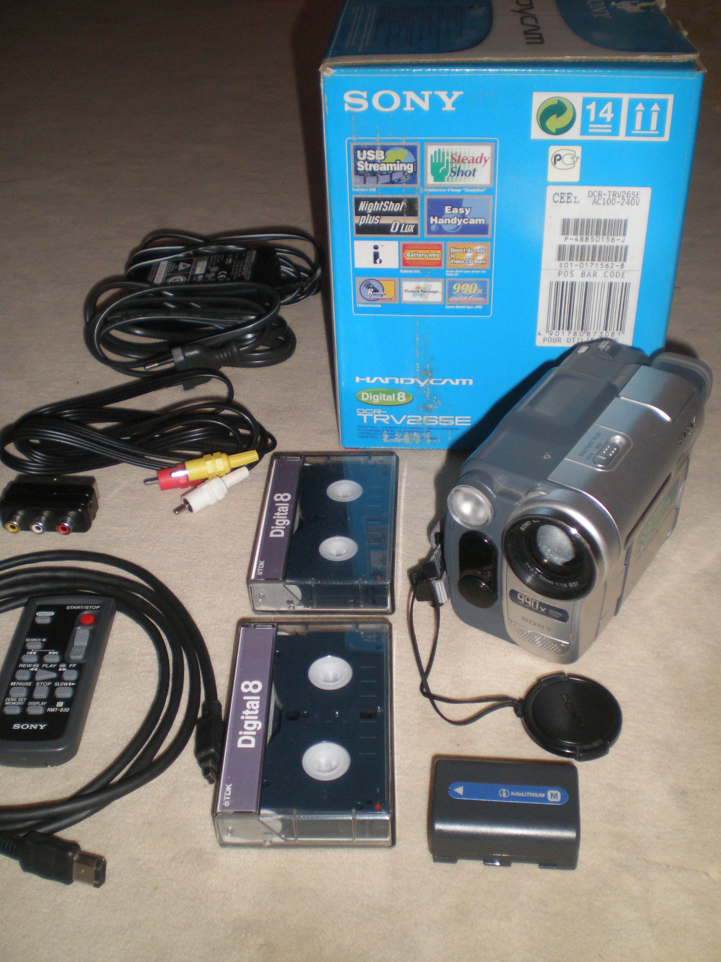 видеокамеры dcr trv265e драйвера